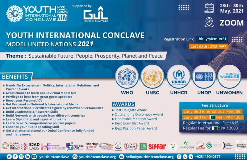 Youth International Conclave Model United Nations 2021