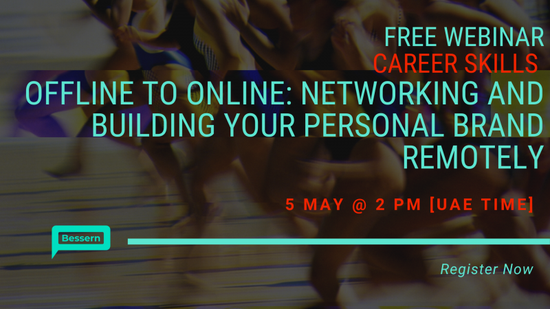 Networking and building your personal brand remotely