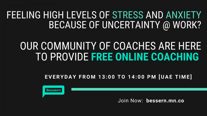 Free Online Coaching during COVID crisis