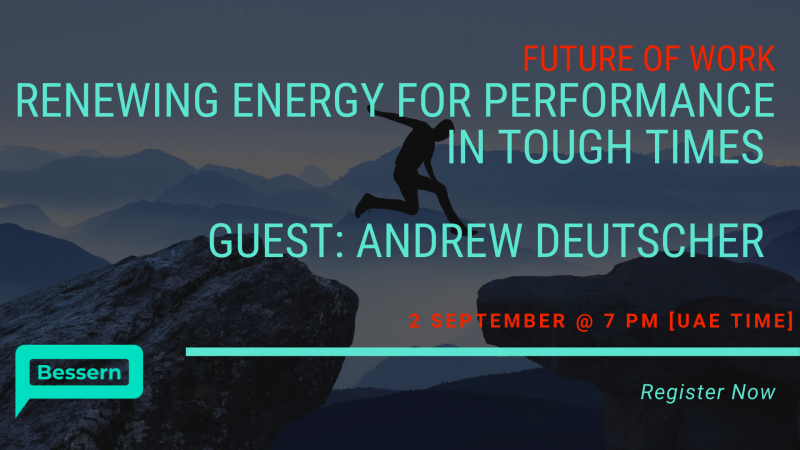 Renewing Energy for Performance in Tough Times