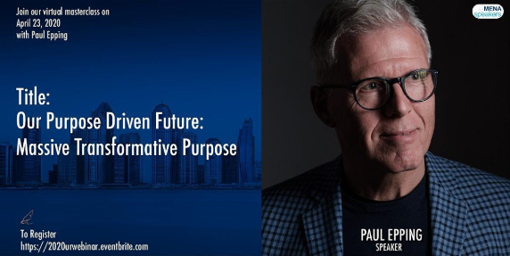 Our Purpose Driven Future: Massive Transformative Purpose