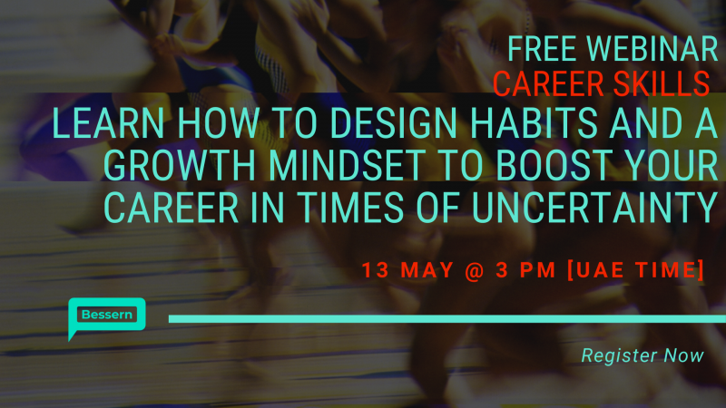 Design habits and a growth mindset to boost your career