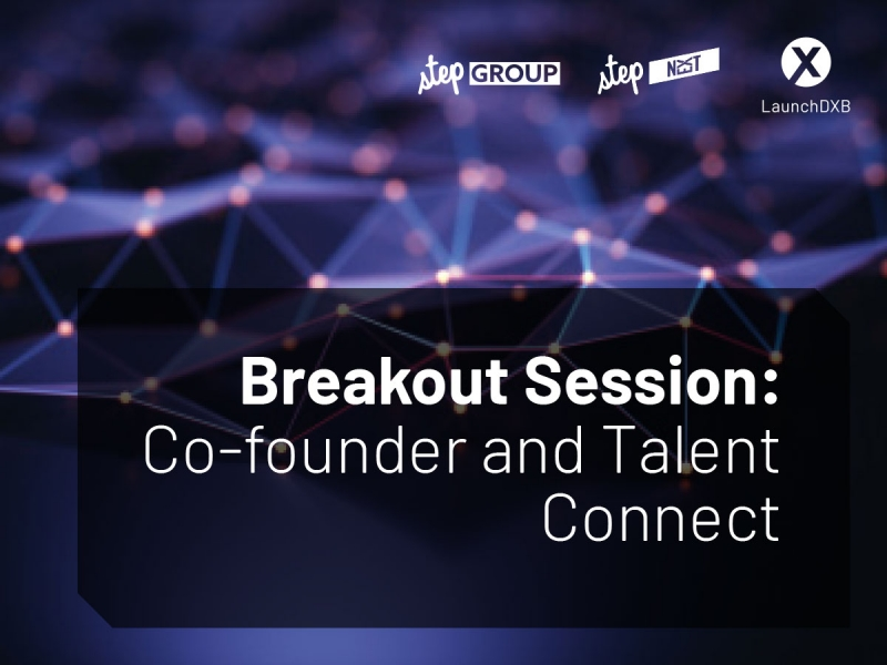 Connect with potential co-founders and talents