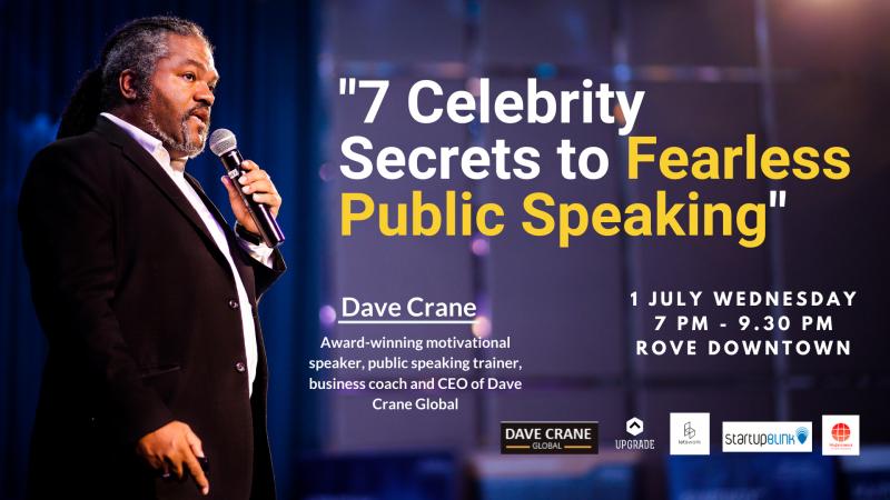 7 Celebrity Secrets to Fearless Public Speaking