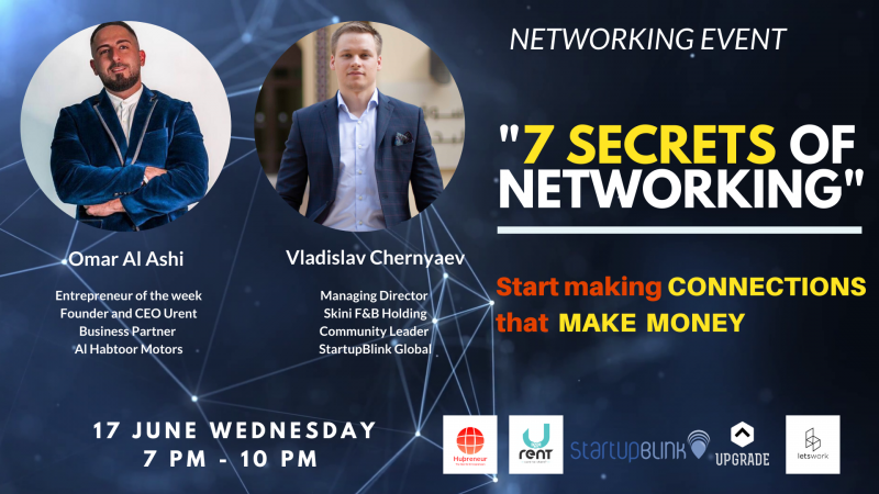 Networking Event - 7 Secrets of Networking